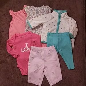 Bundle of Carter's baby clothes